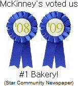Reader Choice Award for Best Bakery in McKinney